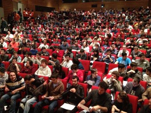 SINFOXX RayMuzyka keynote audience